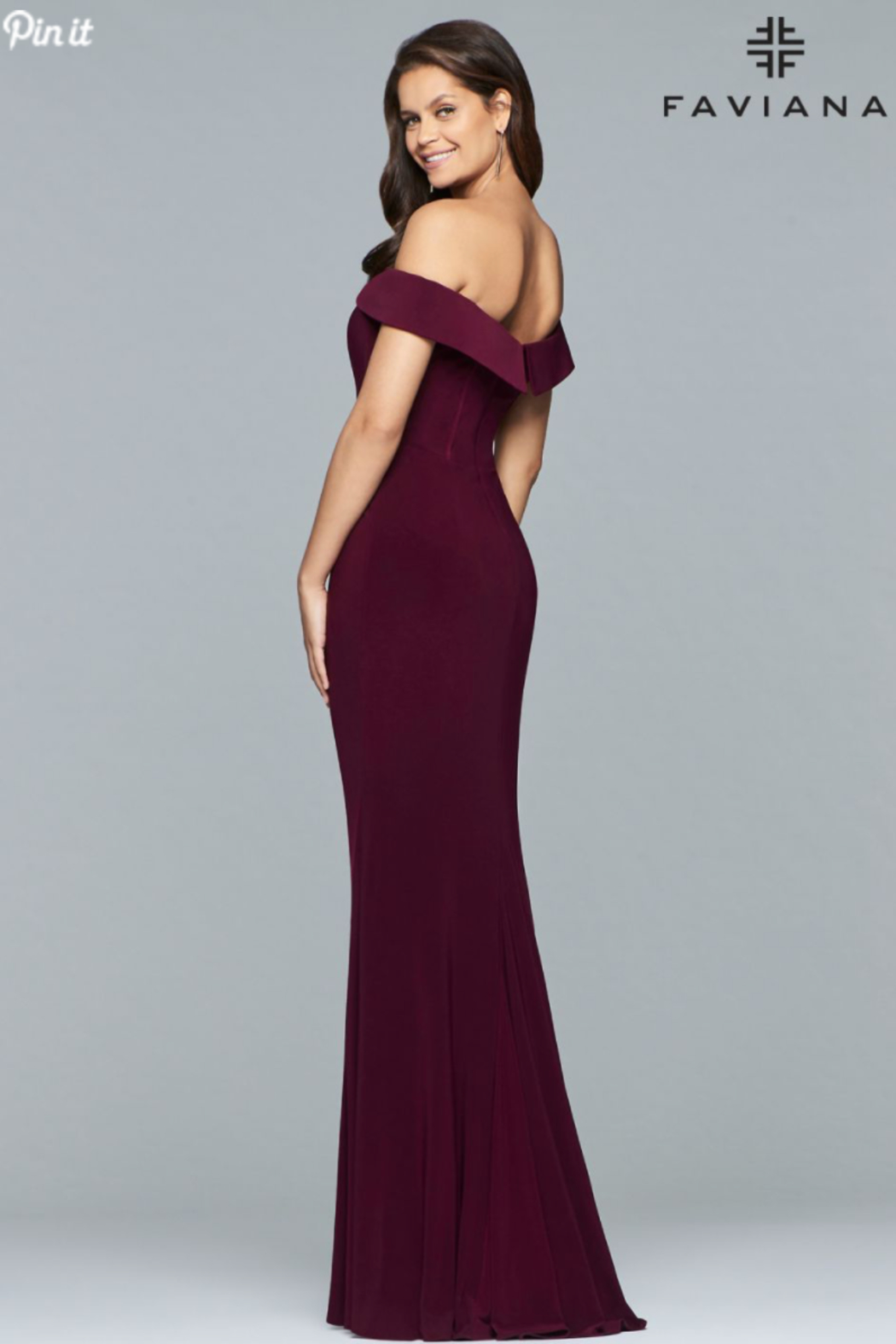 Faviana Classic, Classy Gown - Front Full Image