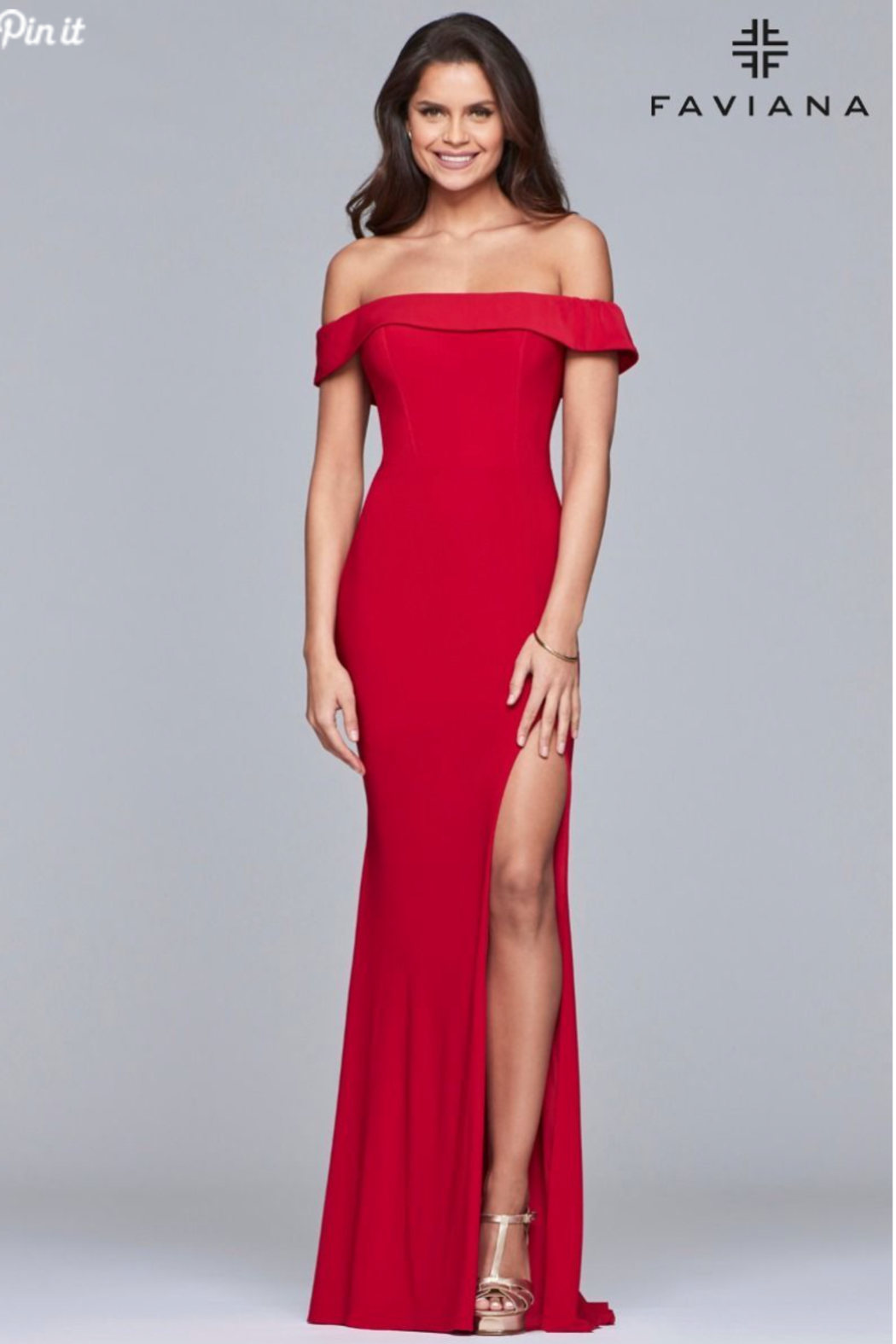 Faviana Classic, Classy Gown - Front Cropped Image