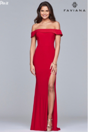 Faviana Classic, Classy Gown - Front cropped