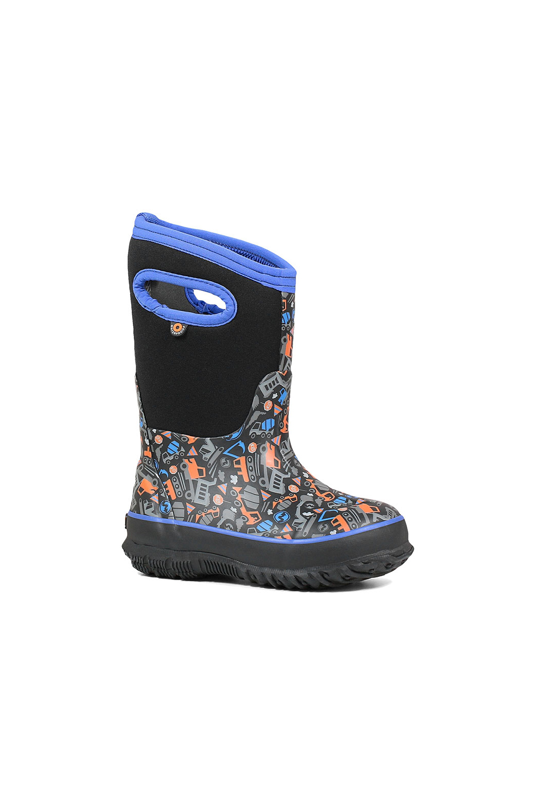 BOGS Classic Construction Kids Insulated Boots - Front Full Image