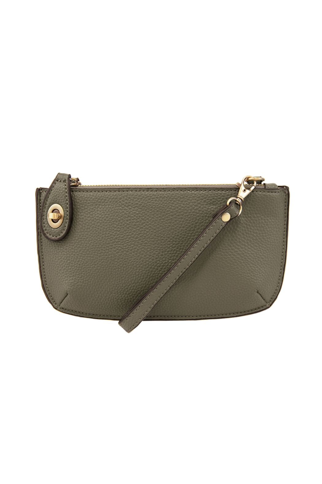 Joy Accessories Classic Crossbody Wristlet Clutch - Front Cropped Image