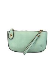 Joy Accessories Classic Crossbody Wristlet Clutch - Front cropped