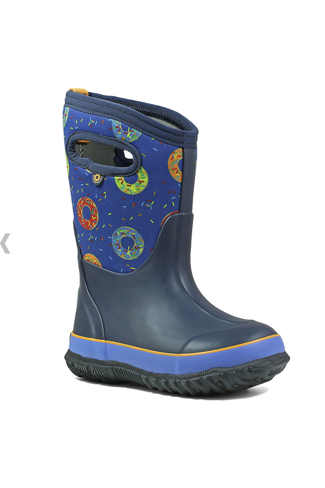 BOGS Classic Donuts Kids Insulated Boots - Front Full Image