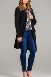Bella Amore Classic Duster Cardigan - Front cropped