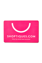 Shoptiques Classic Gift Card - Front full body