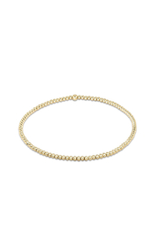 enewton designs Classic Gold 2mm Bead Bracelet - Front cropped