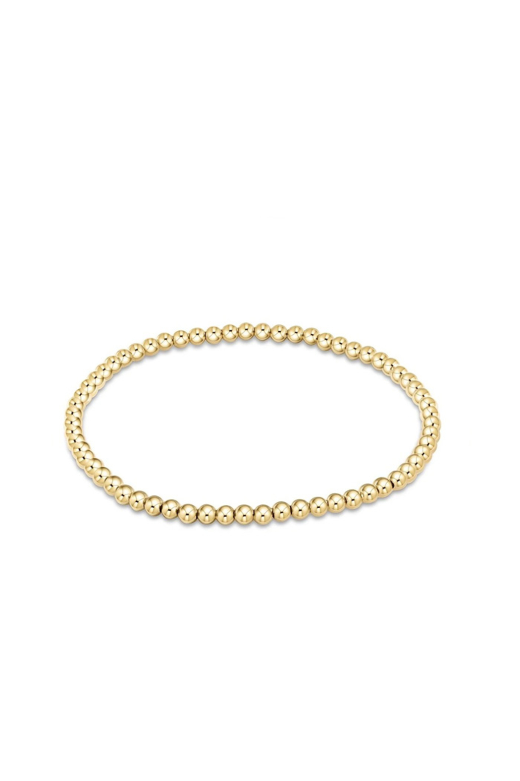 enewton designs Classic Gold 3mm Bead Bracelet - Front Cropped Image