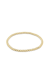 enewton designs Classic Gold 3mm Bead Bracelet - Front cropped