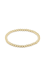 enewton designs Classic Gold 4mm Bead Bracelet - Front cropped