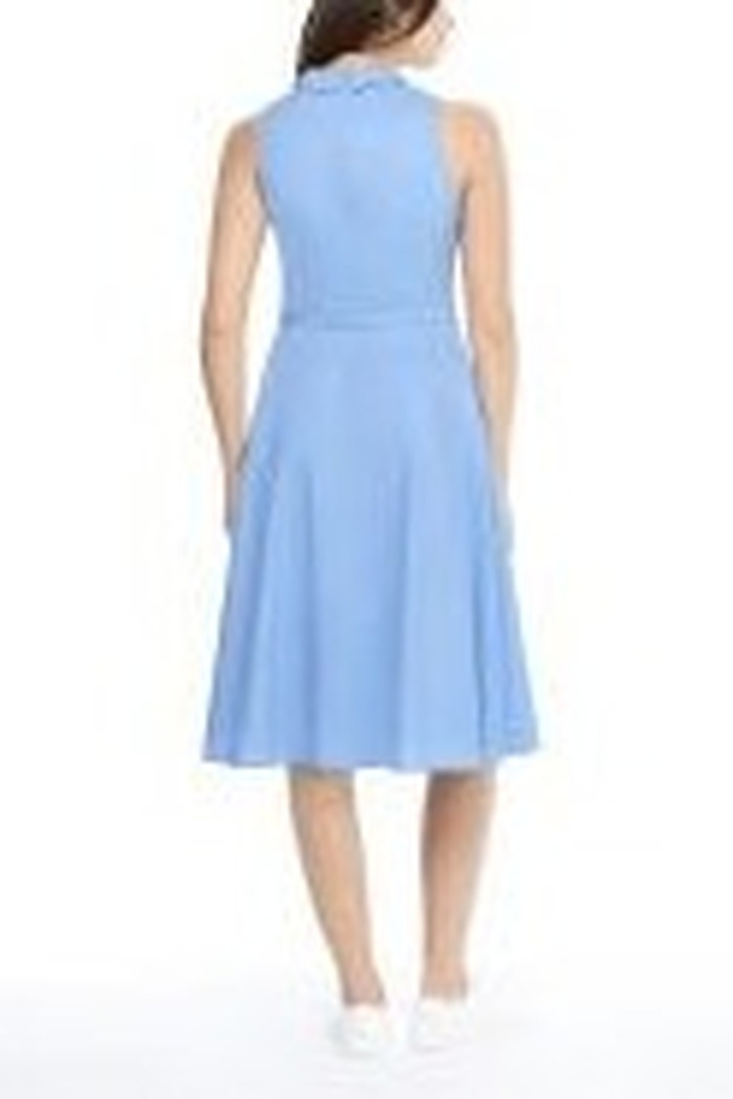 Gal Meets Glam Classic Halter Shirtdress - Front Full Image