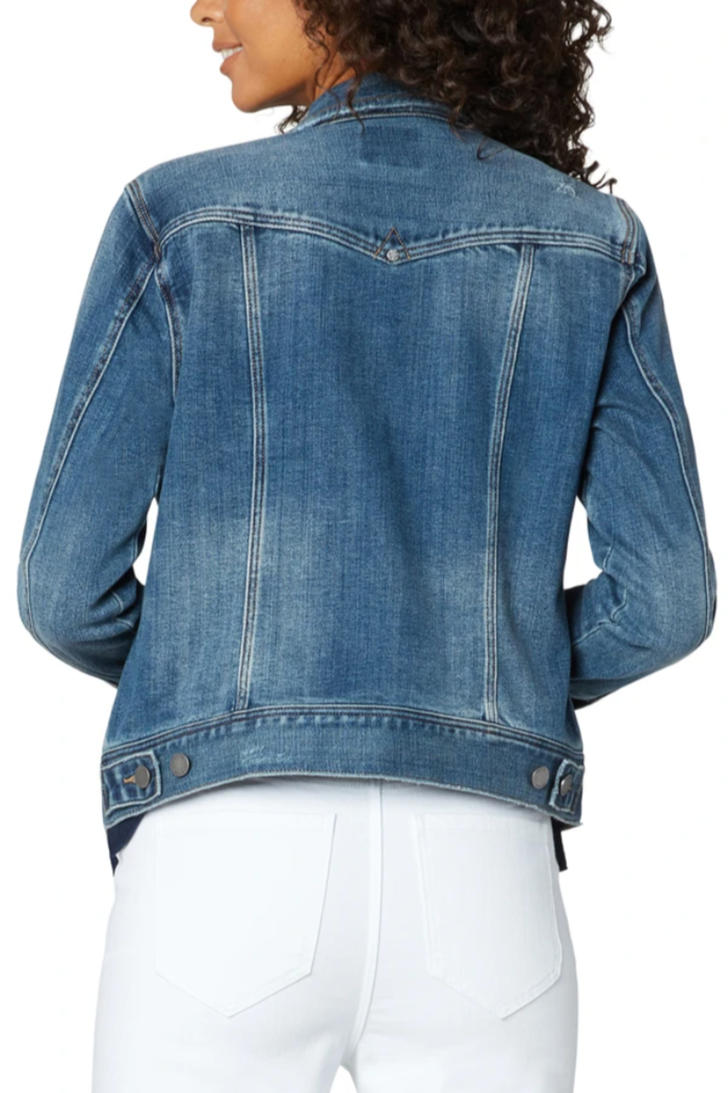 Liverpool  Classic Jean Jacket - Front Full Image