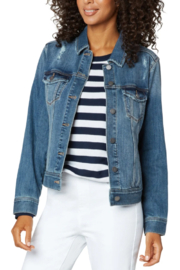 Liverpool  Classic Jean Jacket - Front cropped