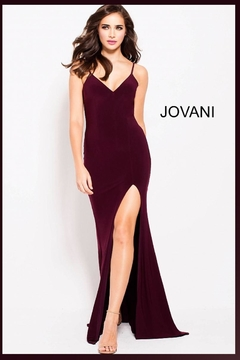 Jovani PROM Classic Jersey Gown - Product List Image