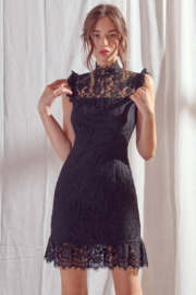 Storia  Classic Lace Dress - Front cropped