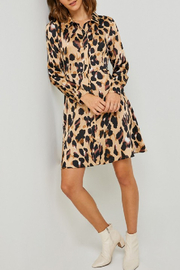 Hayden Los Angeles Classic Leopard Shirt Dress - Product Mini Image
