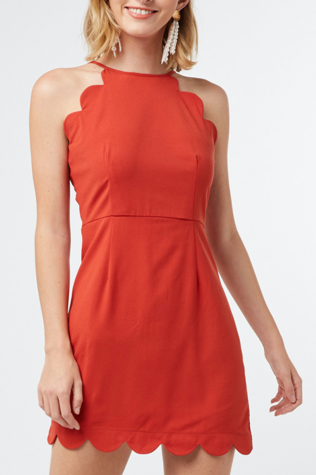 entro  Classic Love dress - Front Cropped Image