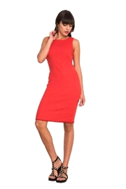 Haris Cotton  Classic Midi Cotton Dress - Product Mini Image