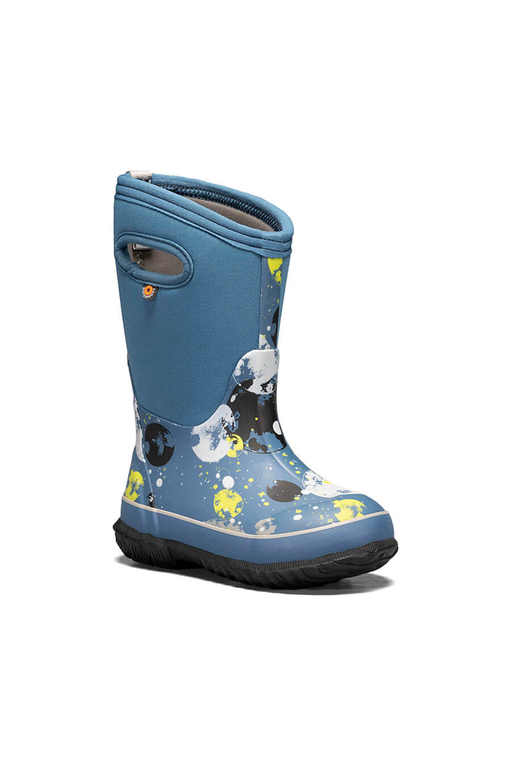 bogs  Classic Waterproof Winter Boots - Moons - Front Full Image