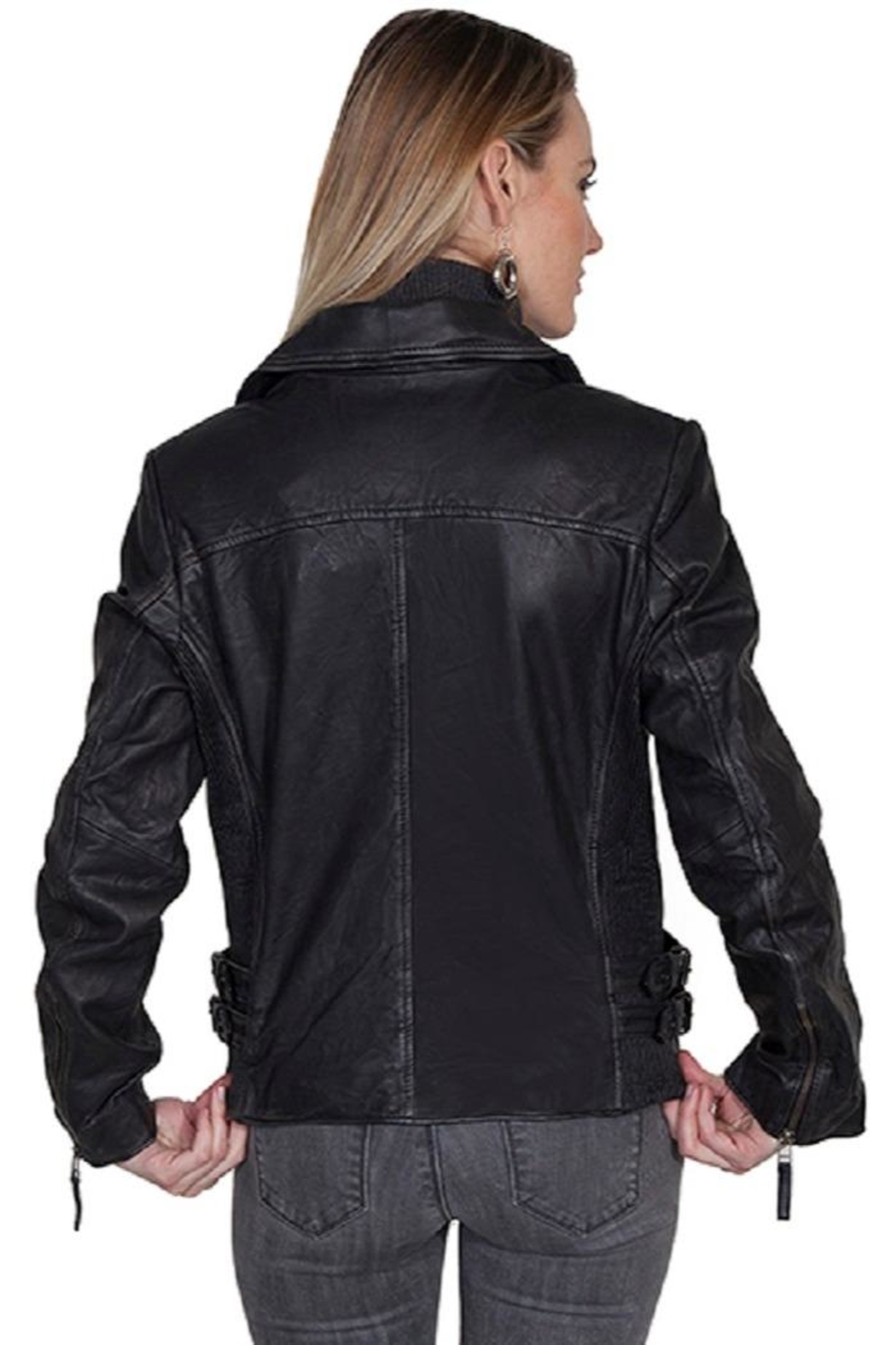 Scully Classic Moto Jacket - Front Full Image