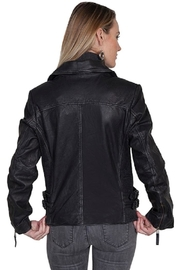 Scully Classic Moto Jacket - Front full body