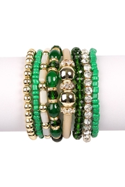 Riah Fashion Classic-Multi-Bead Bracelet Set - Product Mini Image