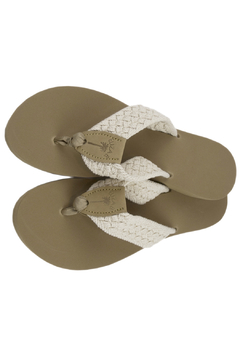 Eliza B Classic Natural Macrame with Almond Sole - Product List Image