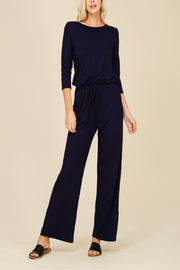 annabelle Classic Navy Jumpsuit - Product Mini Image