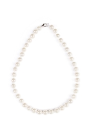 Riah Fashion Classic Pearl Necklace - Product Mini Image