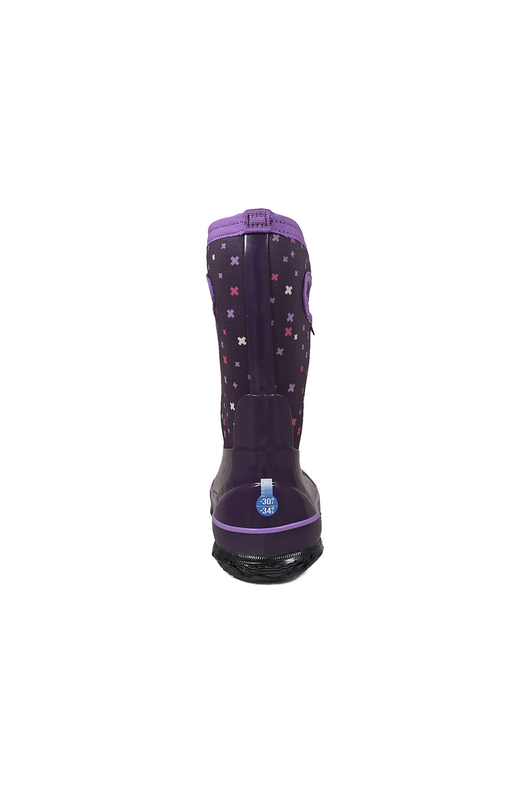 BOGS Classic Plus Kids Insulated Boots - Back Cropped Image