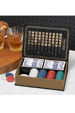 Two's Company Classic Poker Set - Product List Image