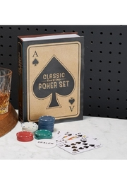 Two's Company Classic Poker Set - Front full body