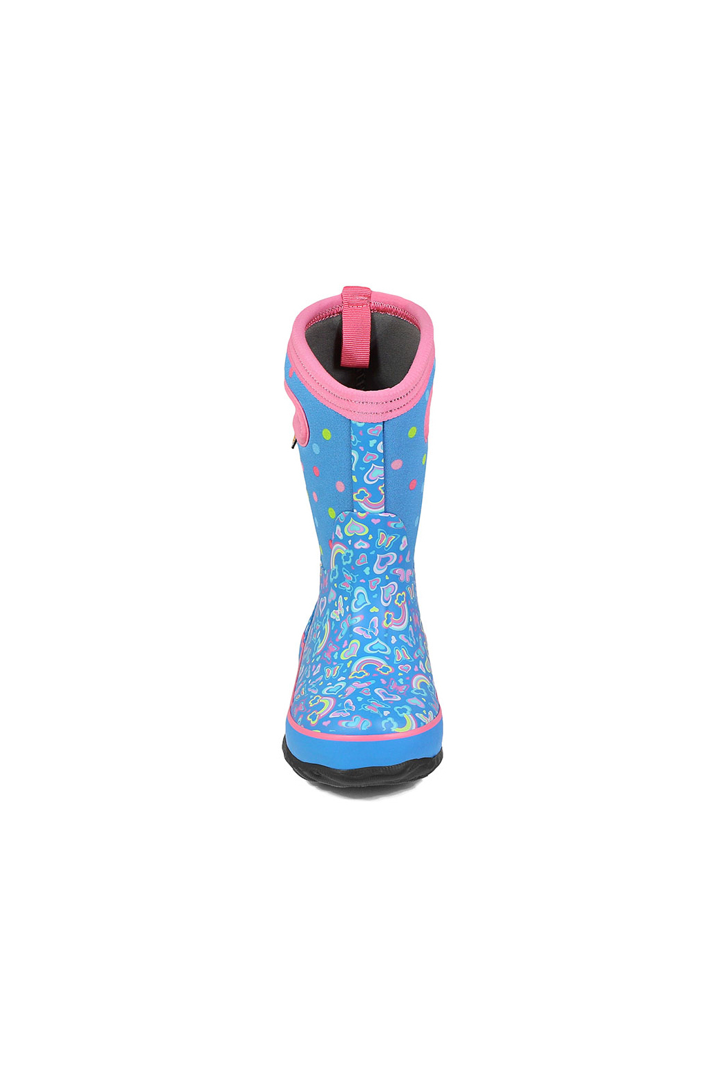 bogs  Classic Rainbow Kids Insulated Boots - Side Cropped Image