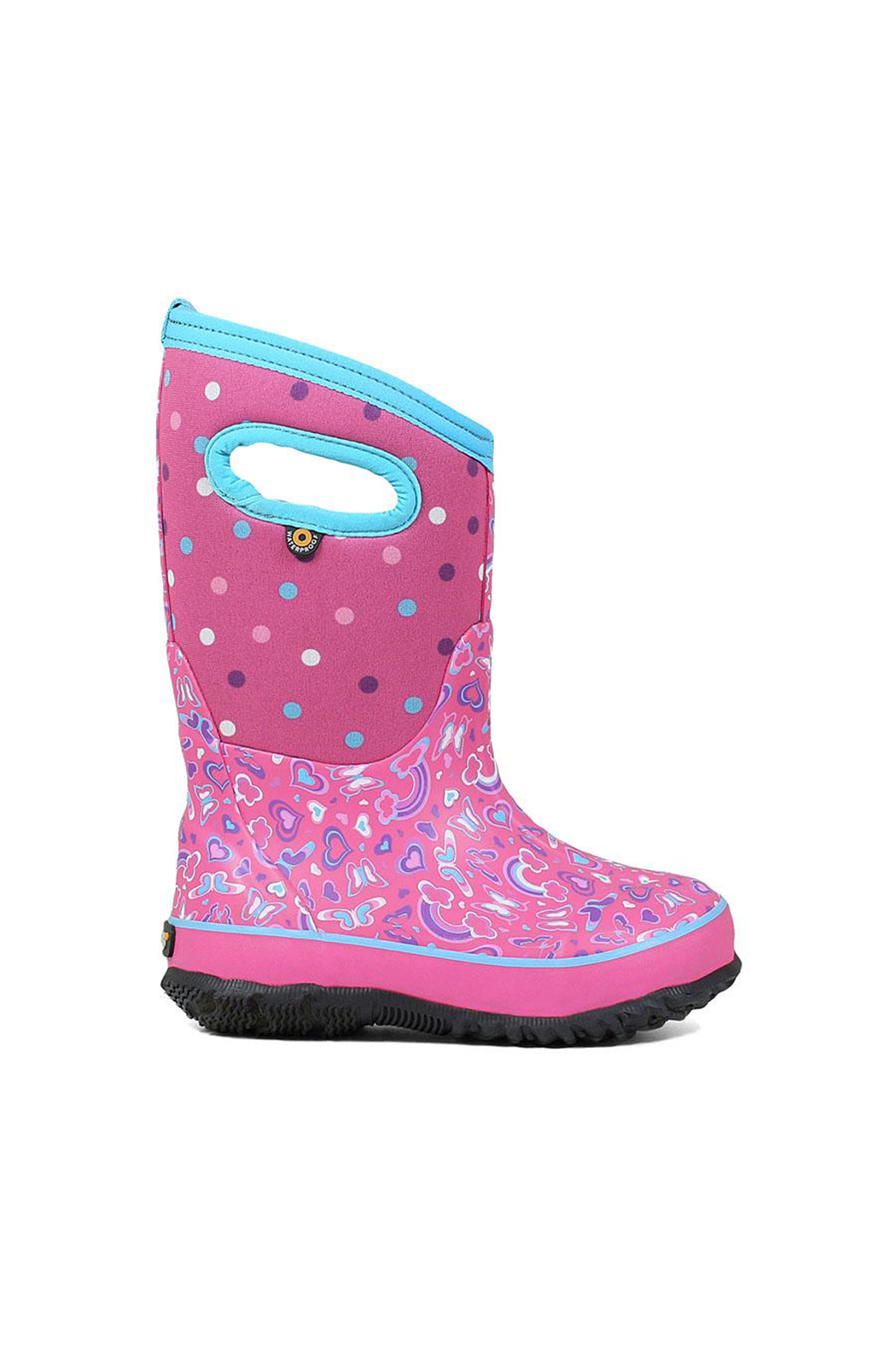 bogs  Classic Rainbow Kids Insulated Boots - Main Image