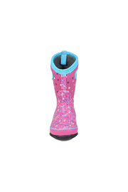 bogs  Classic Rainbow Kids Insulated Boots - Front full body
