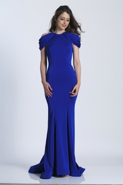 Dave and Johnny Classic Royal Gown - Product List Image