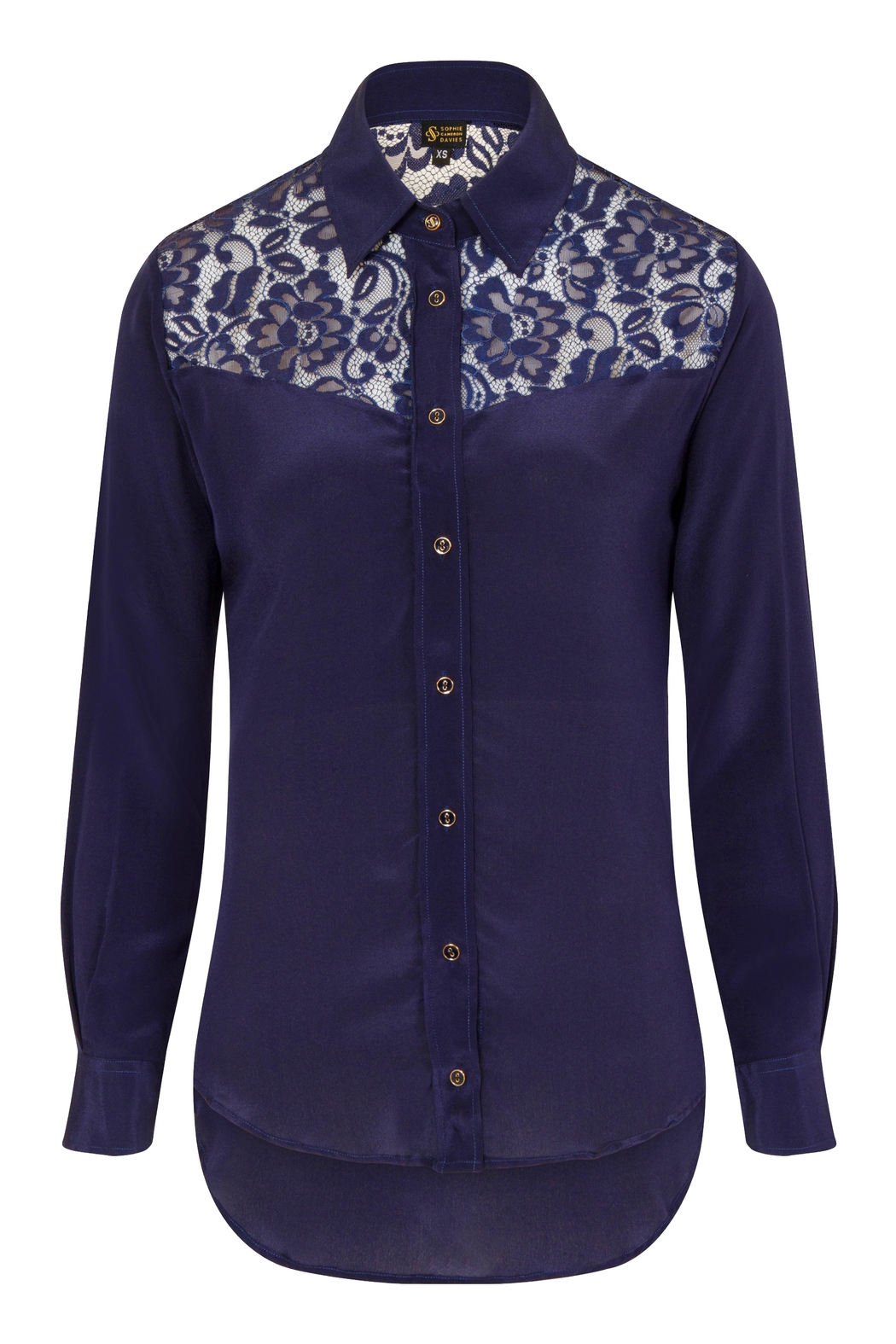 Sophie Cameron Davies Classic Silk Shirt - Side Cropped Image