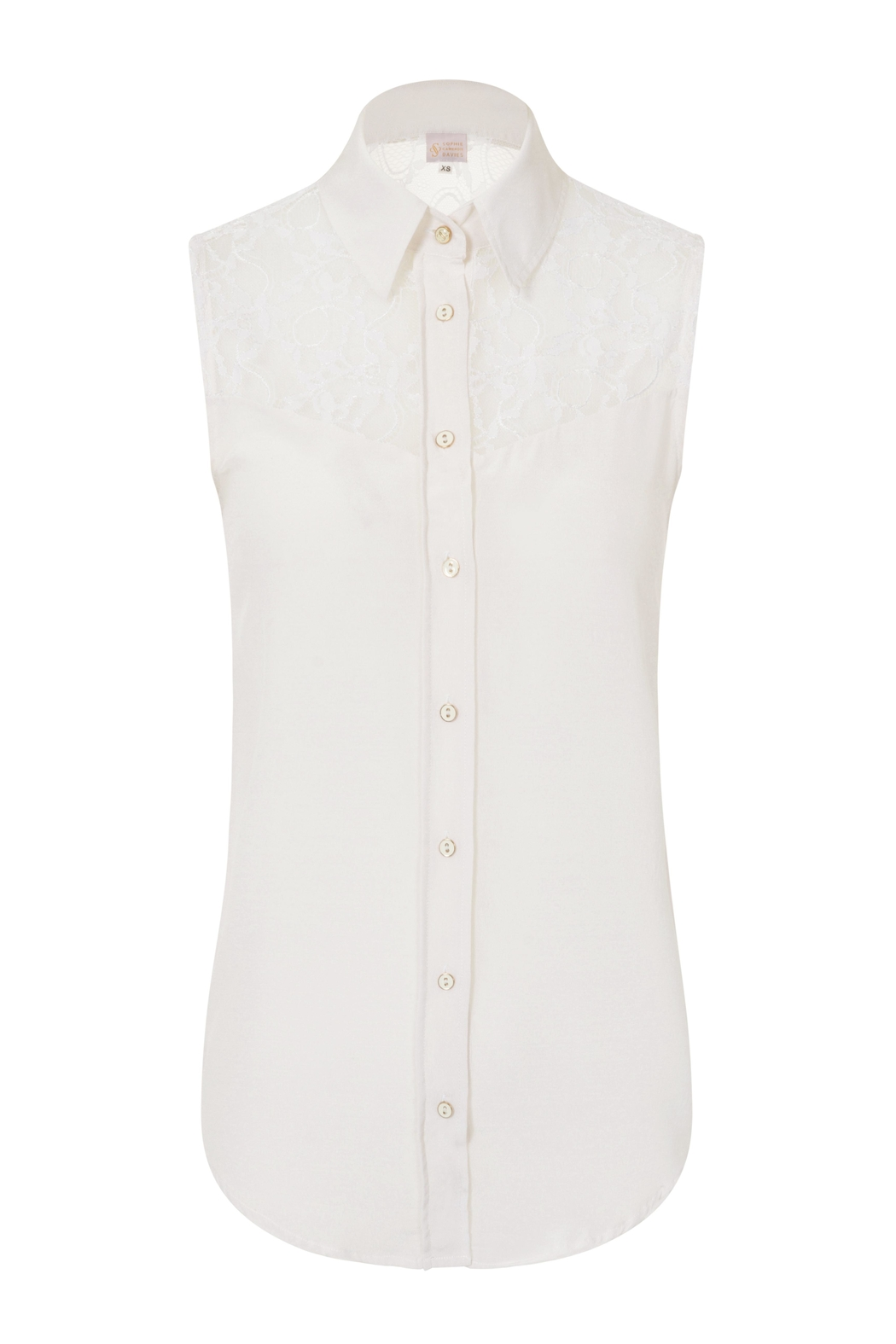 Sophie Cameron Davies Classic Silk Top - Front Full Image