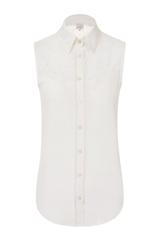 Sophie Cameron Davies Classic Silk Top - Front full body