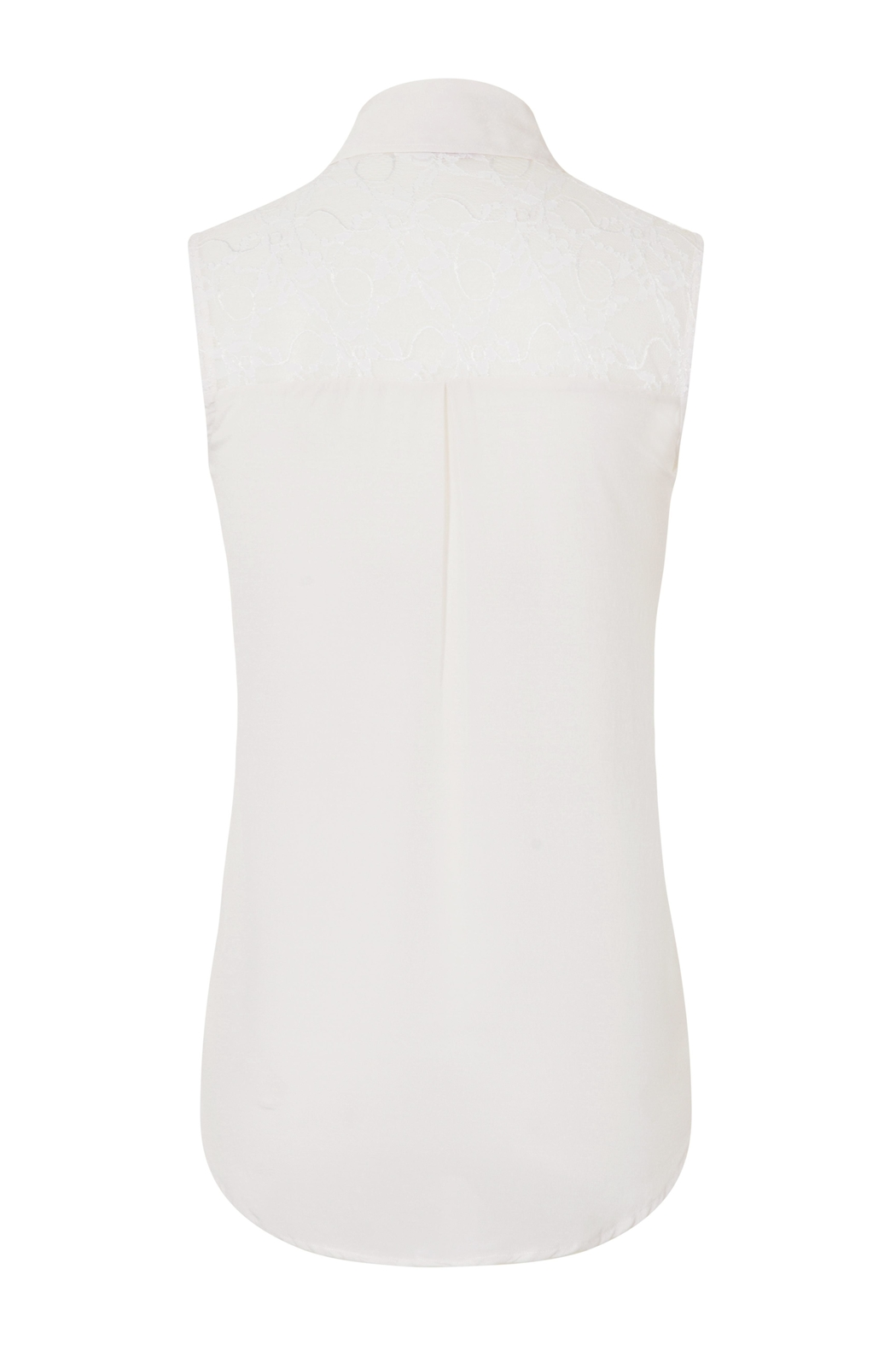 Sophie Cameron Davies Classic Silk Top - Side Cropped Image