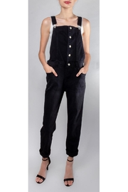 Love Tree Classic Slim-Leg Overalls - Product Mini Image
