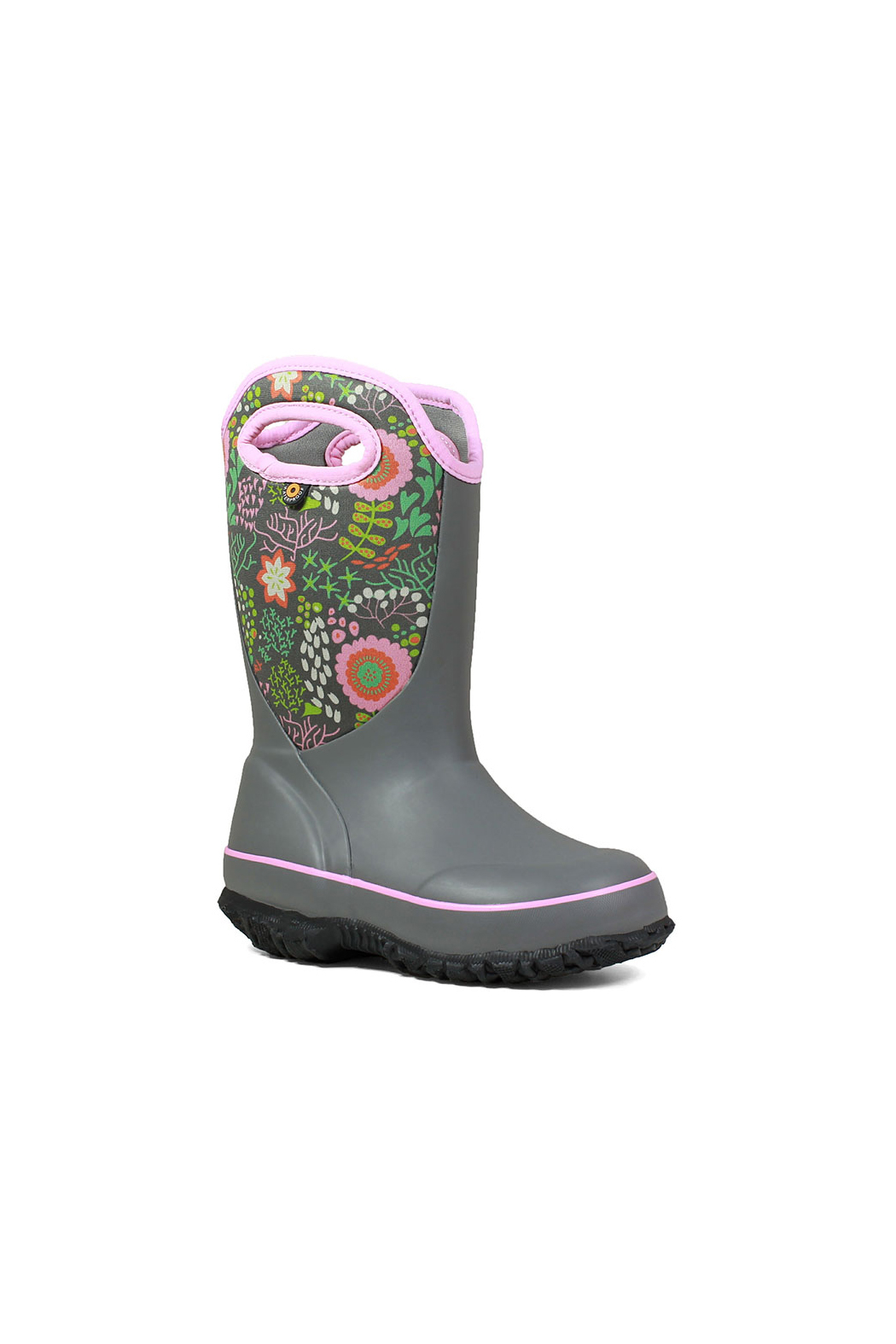 BOGS Classic Slushie Reef Kids Insulated Boots - Front Full Image