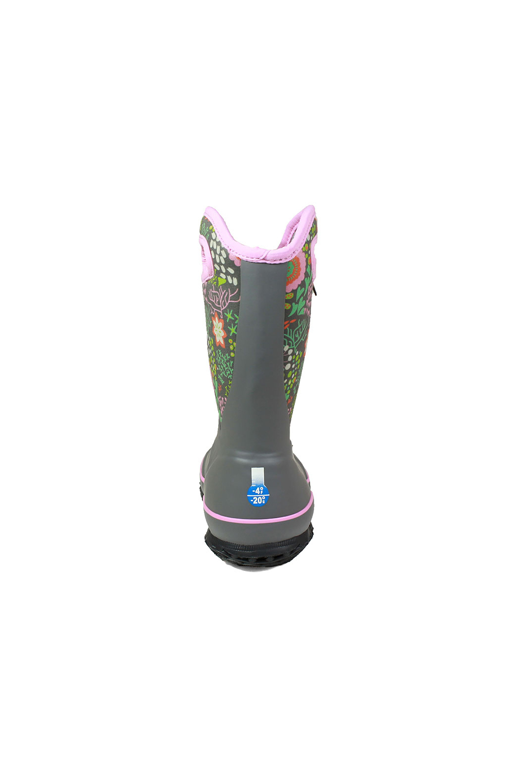 BOGS Classic Slushie Reef Kids Insulated Boots - Back Cropped Image