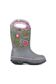 BOGS Classic Slushie Reef Kids Insulated Boots - Front cropped