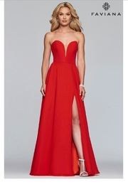 Faviana Classic Strapless Gown - Product Mini Image