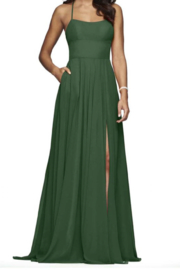 Faviana Classic Strappy Gown - Product Mini Image
