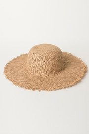 O'Neill Classic Straw Sunhat - Front full body