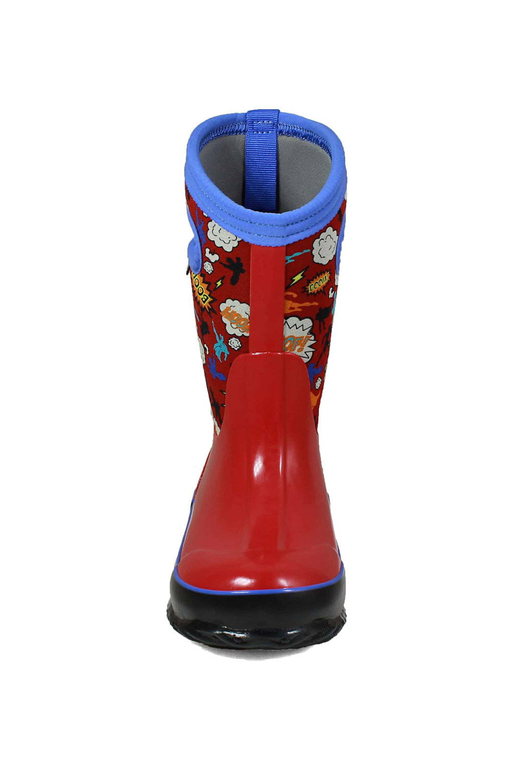 BOGS Classic Super Hero Kids Insulated Boots - Side Cropped Image