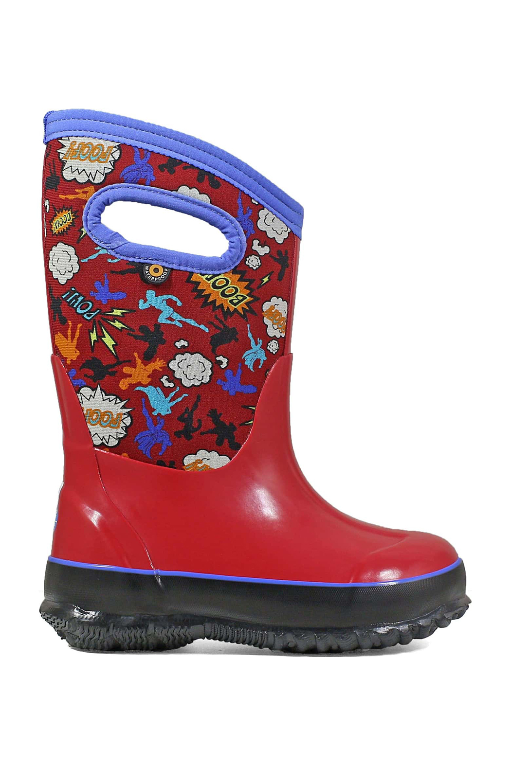 BOGS Classic Super Hero Kids Insulated Boots - Main Image