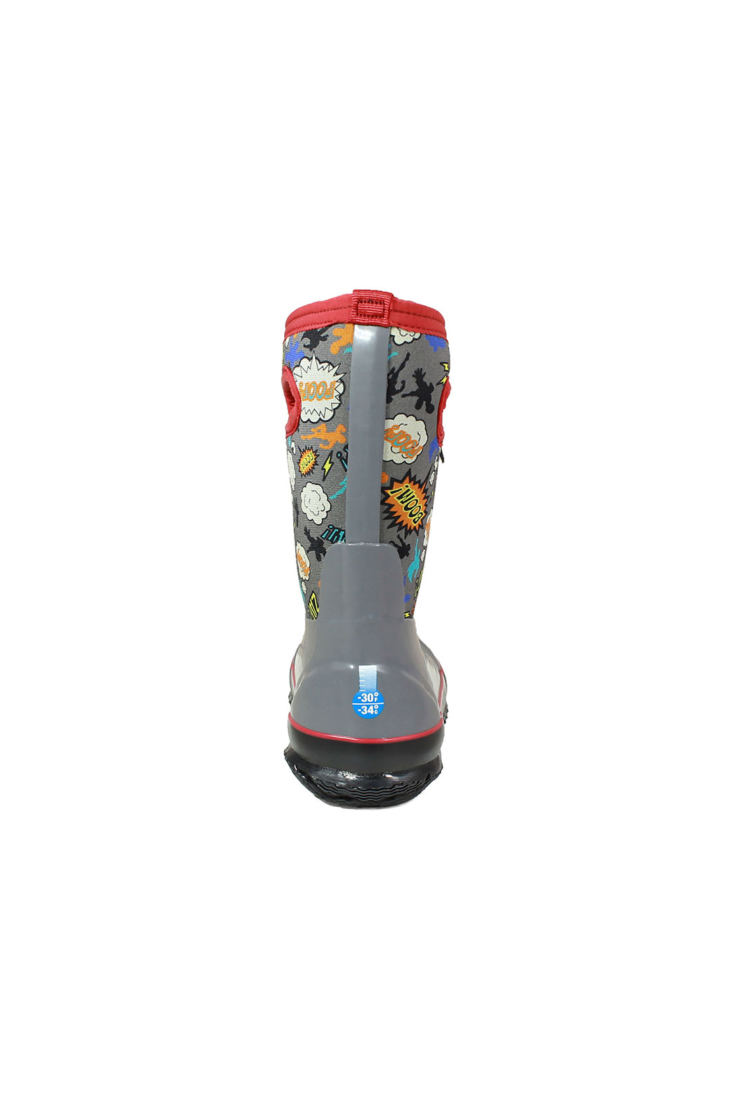 BOGS Classic Superhero Kids Insulated Boots - Back Cropped Image
