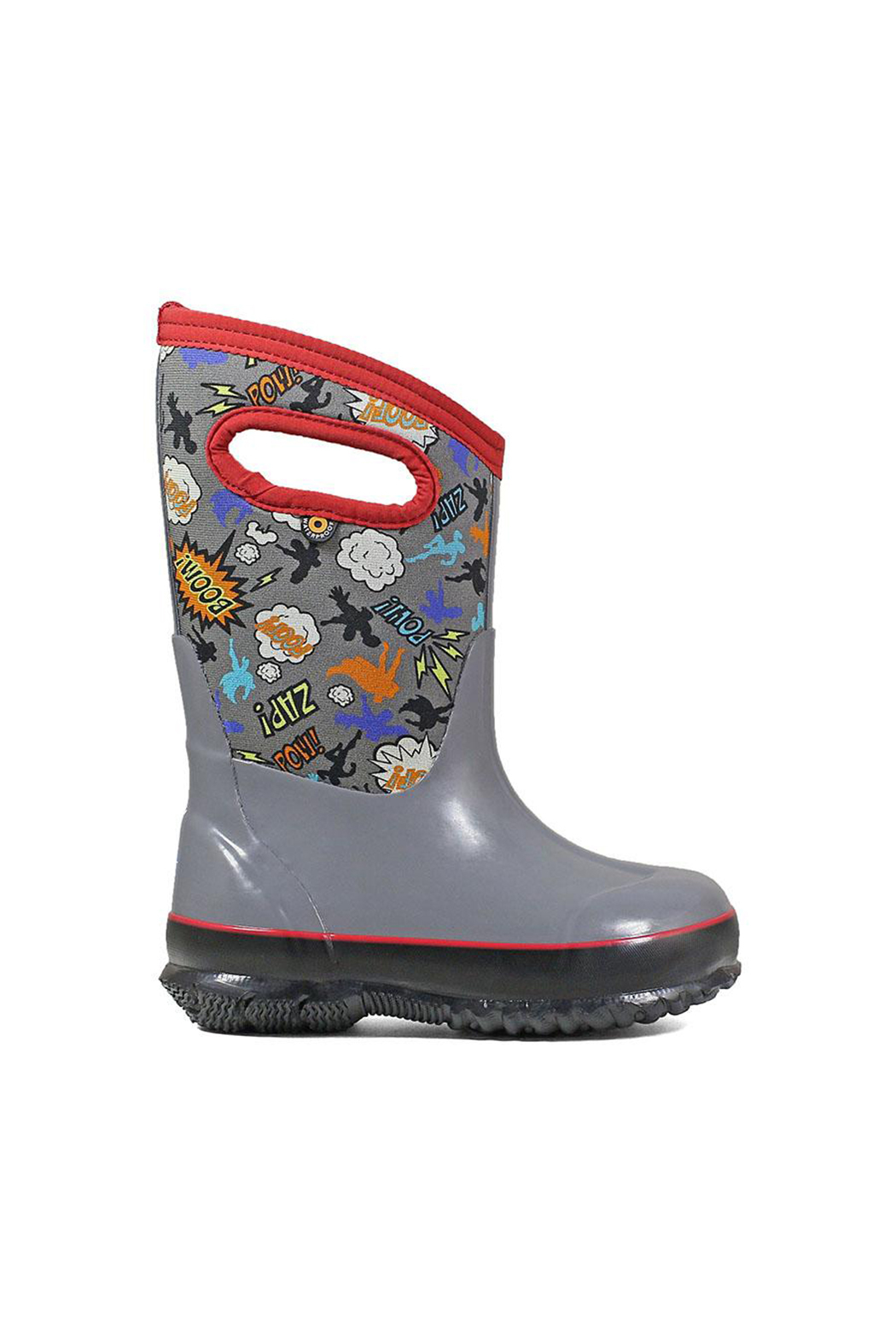 BOGS Classic Superhero Kids Insulated Boots - Front Cropped Image